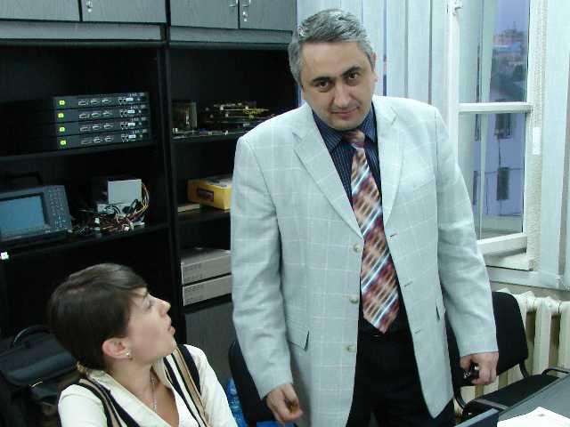 Valentin Popa, rectorul Universităţii Ştefan cel Mare Suceava