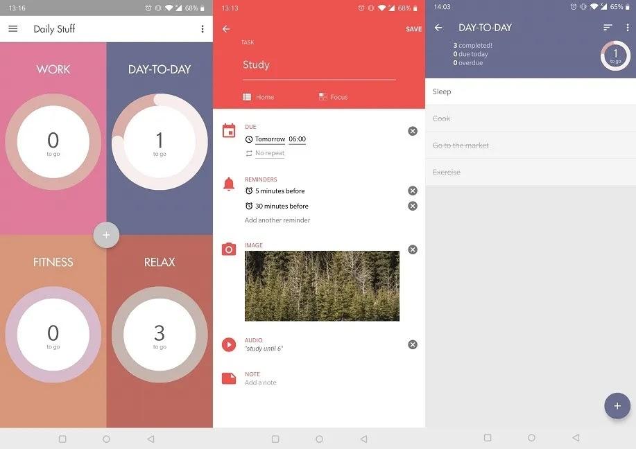 يجب أن يكون لديك تطبيقات تذكير لنظام Android Ike
