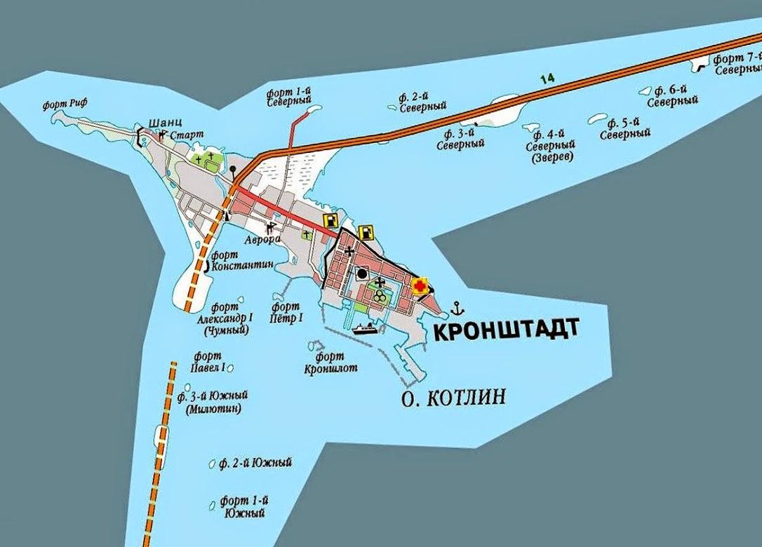 Форты в Кроштадте
