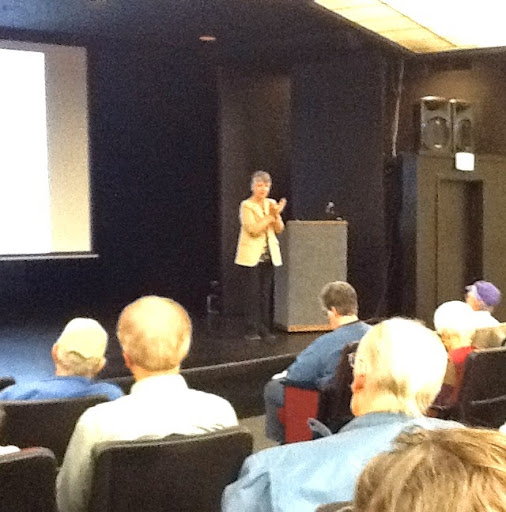 Genealogical seminar at the Wells Fargo Center for the Performing Arts in Santa Rosa CA