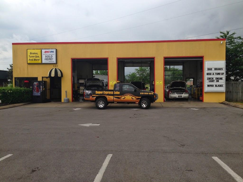 Auto Repair Murfreesboro, TN | Super Express Lube at 840 Middle Tennessee Blvd, Murfreesboro, TN