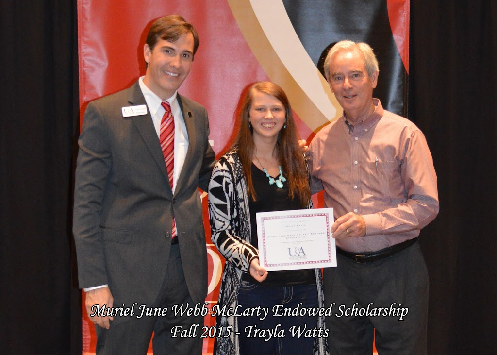 Scholarship Ceremony Fall 2015 - Muriel%2BMcLarty%2B-%2BTrayla%2BWatts.jpg