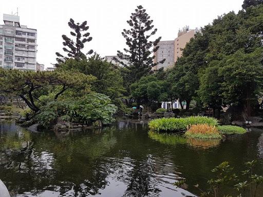 The garden of CKS Memorial Hall in Taipei Taiwan