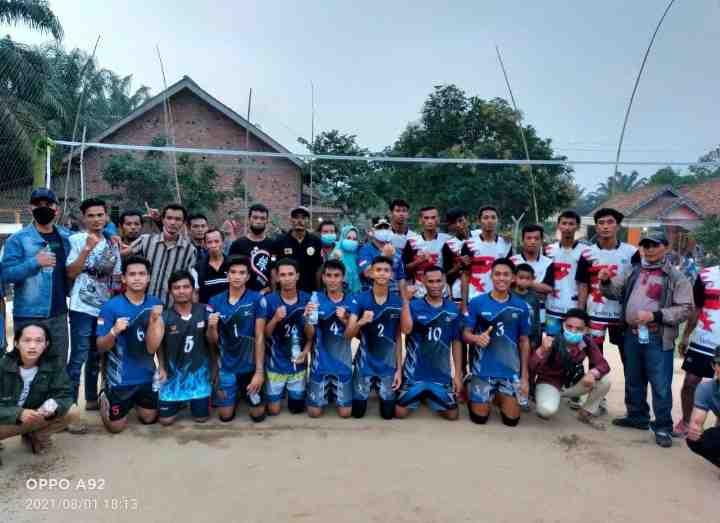 Go To Final, Tim Volly Ulak Bandung Kandaskan Perlawanan Sengit Tim Tuan Rumah Pajar Indah