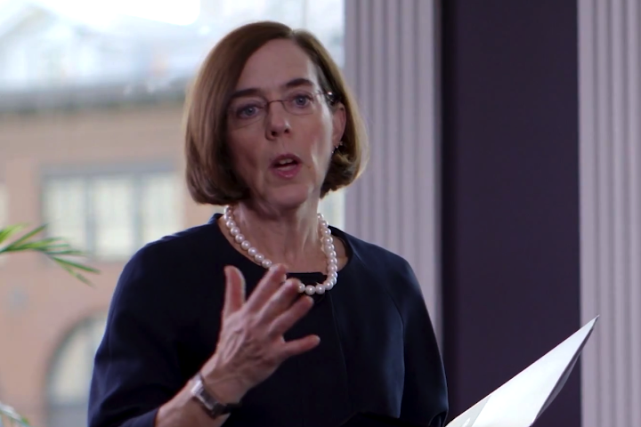 Oregon governor vows 'executive action' on guns