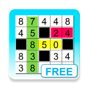 Fill-it in Number Puzzles for PC and MAC