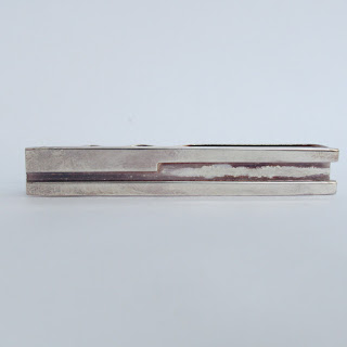 Gucci NEW Sterling Silver Tie Clip