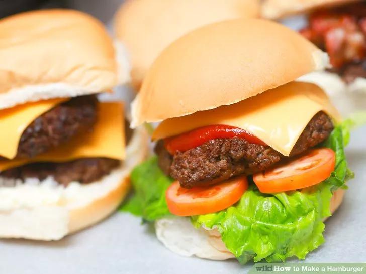 Hinh anh: Mot Hamburger hoan chinh