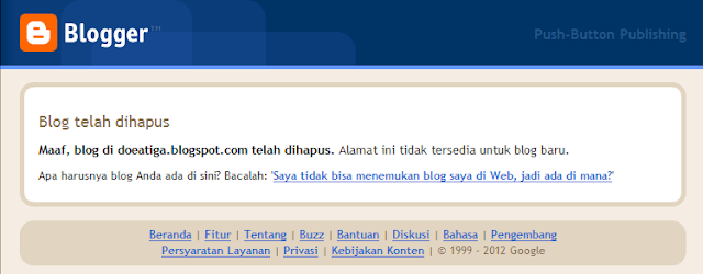 dihapus%252520blognya Kenapa Halaman Blog Tidak Ditemukan?