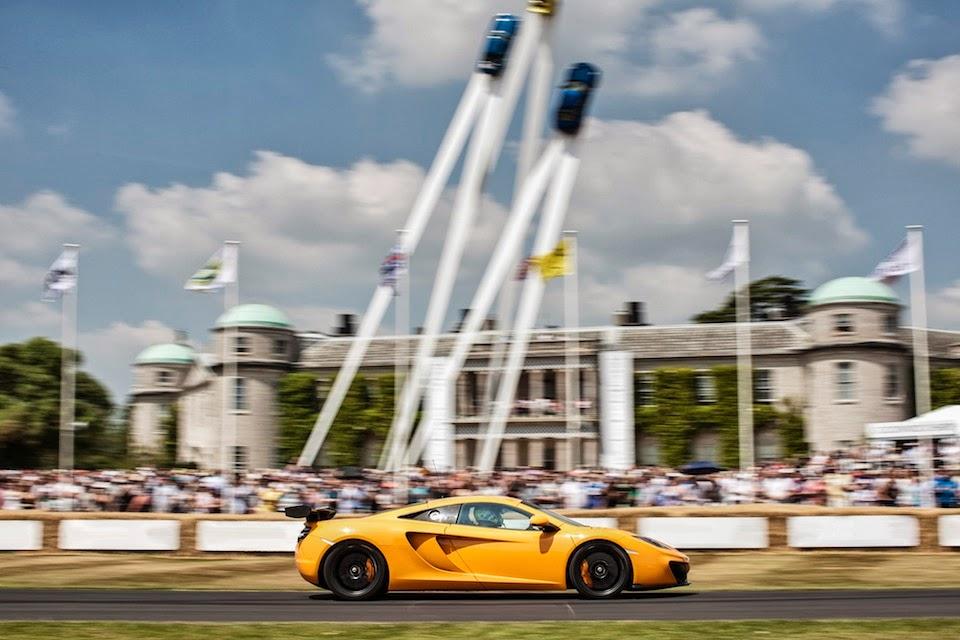 McLaren 12C GT Sprint Goodwood