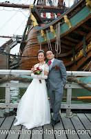 Bruidsreportage (Trouwfotograaf) - Foto van bruidspaar - 013