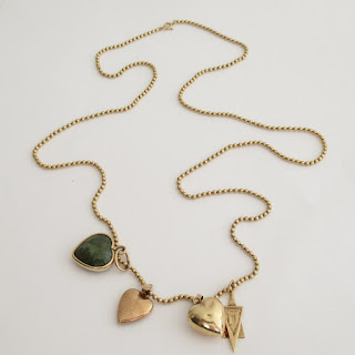 14K Gold Chain & Charms
