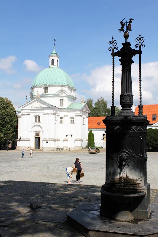 Plaza del Mercado de la Ciudad Nueva e Iglesia de San Casimiro