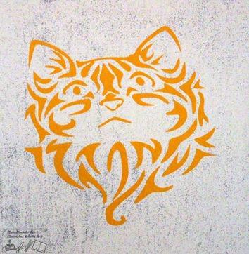 Canvas kat 1