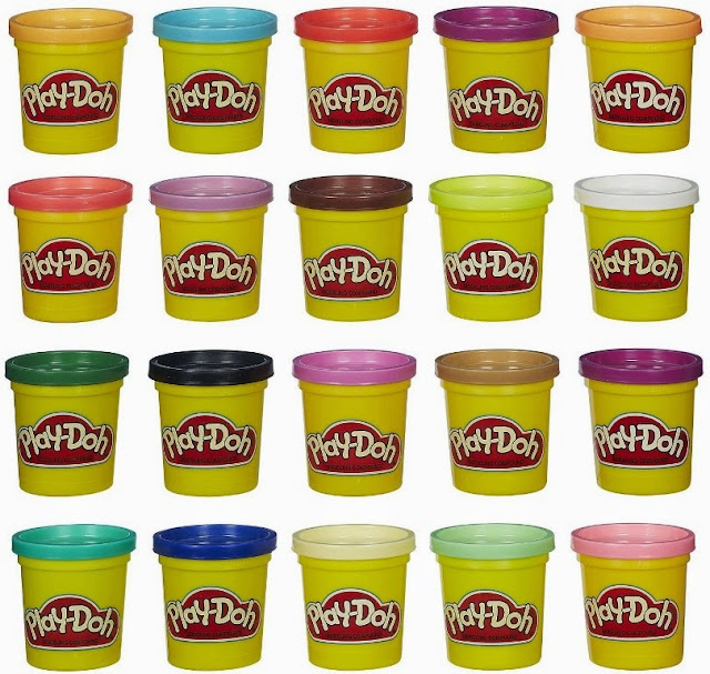 Đồ chơi Bột nặn Play-Doh 20 màu Super Color Pack thật bổ ích và lý thú