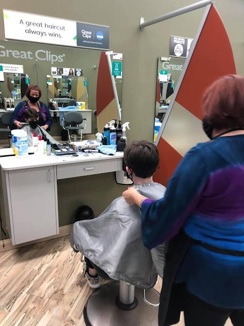 Dillon's Great Clips Cut