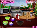 لعبة طبخ كيكة الفواكه