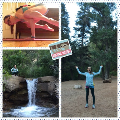 casey the college celiac, yoga, cheyenne canyon hike, colorado springs