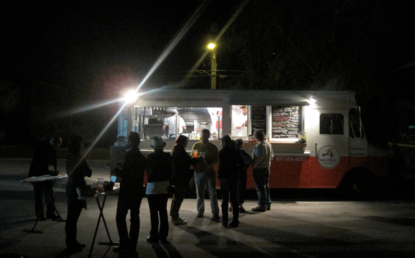 Photo of the media preview of Big Wheel's food truck