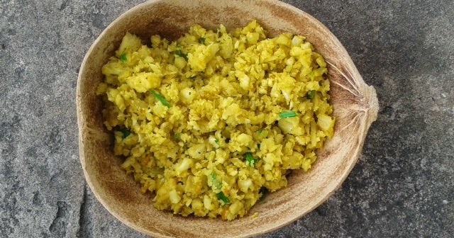Rasta Wife Line Ital Cauliflower Rice Recipe