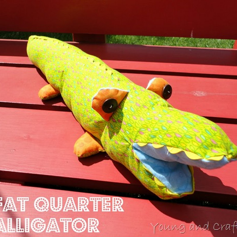 Fat Quarter Alligator
