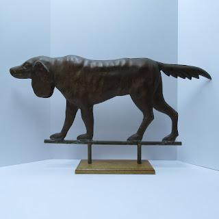 Copper Dog Figure