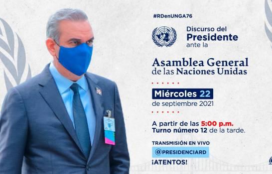 Discurso completo de Luis Abinader en Asamblea de la ONU