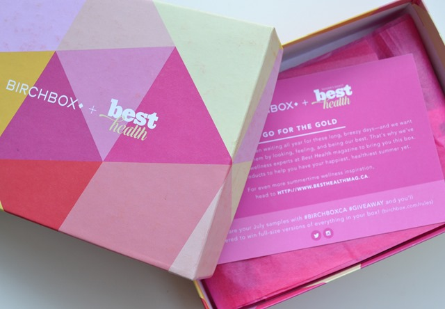 Birchbox Best Health Review (2)