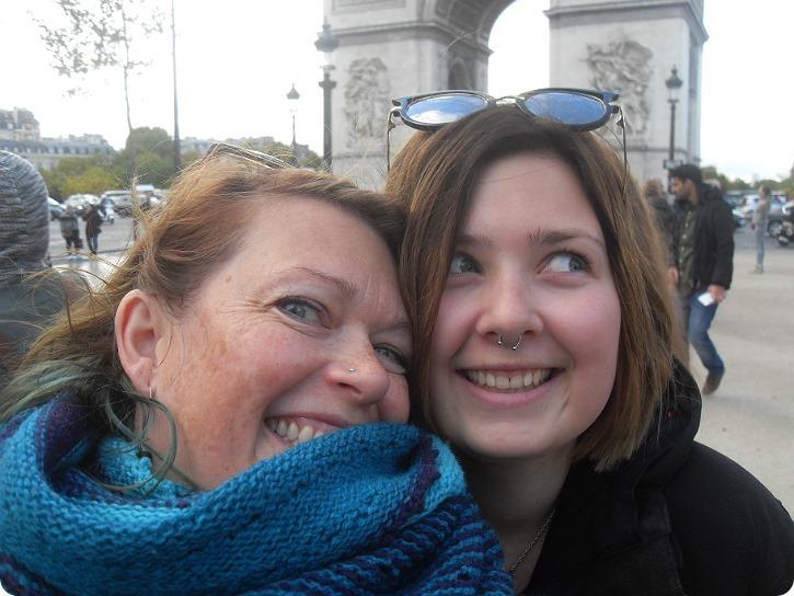 Ved Triumfbuen - Paris