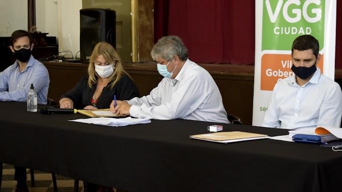 Se abrieron los sobres para la licitacion de 100 iluminarias LED para Av. Filippini