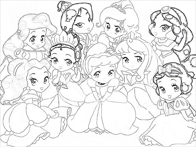 Baby Rapunzel Coloring Pages Princess Rapunzel Princess Sofia Coloring  Pages For Girls