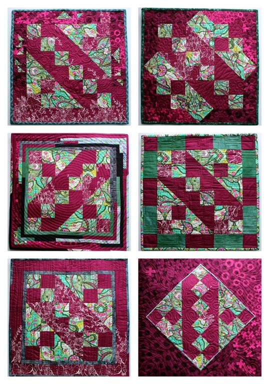 Jacob's Ladder Quilt Blocks