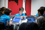 Italian team Monithon during EUhackathon 2014 at Googleplex in Brussels, Belgium on 02.12.2014