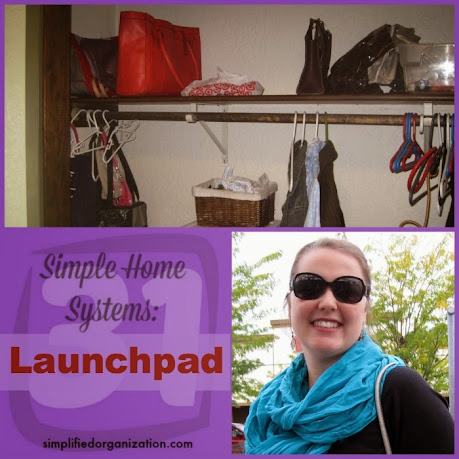 A launchpad is a great area to set up in your home to reduce stress when you need to leave the house.