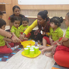 Cooking Experience : Roohafza making by Play Group Section (2018-19), Witty World, Goregaon East