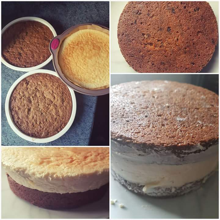 To Assemble The Cake Layer One Layer Of Carrot Cake Add The Cheesecake Then Top With Second Layer Of Carrot Cake
