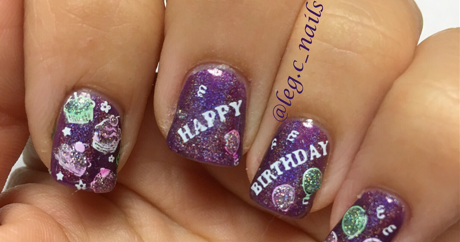 Happy Birthday To Me!!! Nails