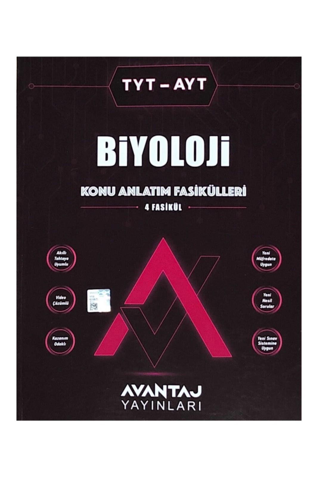 Avantaj Yayınları - TYT - AYT Biyoloji - Konu Anlatımlı