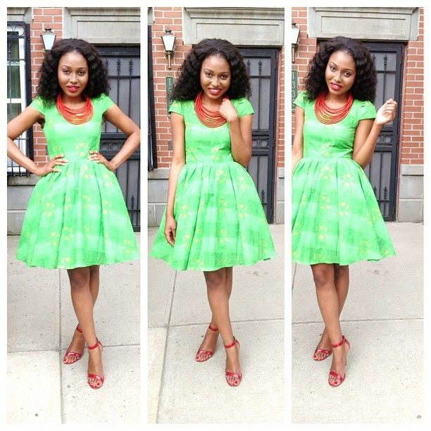 Ankara Styles For Teenagers