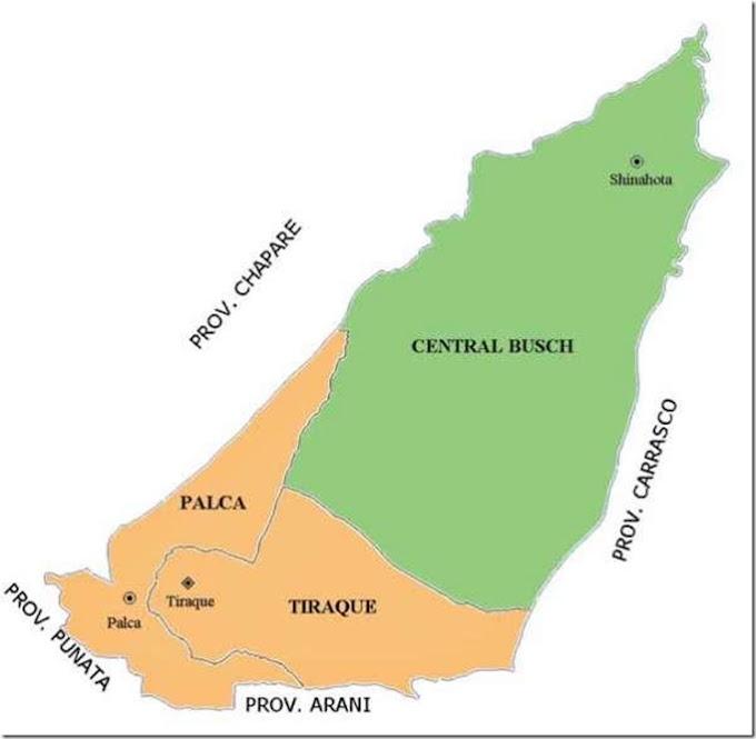 Tiraque: municipio cochabambino (Bolivia)