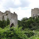 Château de Château-sur-Epte : porte ouest et donjon