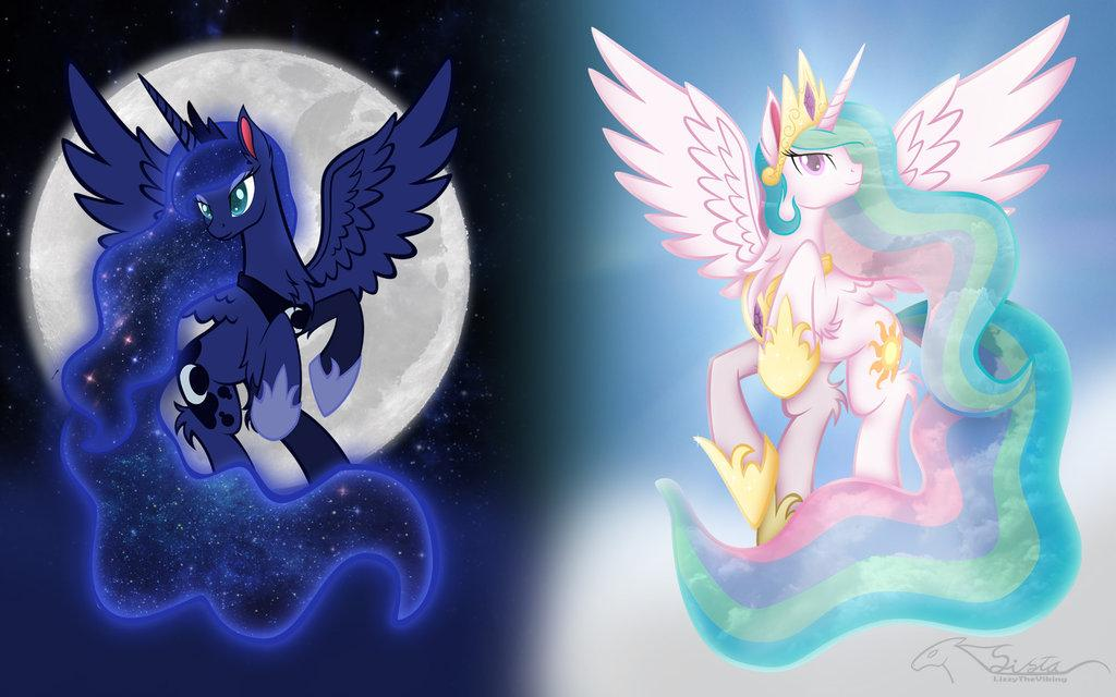 mlp celestia and luna parents - 1024×640