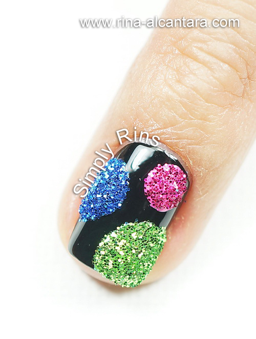 BYS Glitter for Nails - Dots