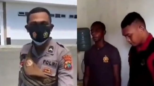 Viral Oknum Polisi Dihukum Koprol Siang Bolong Buntut Hina Tukang Sapu Jalanan