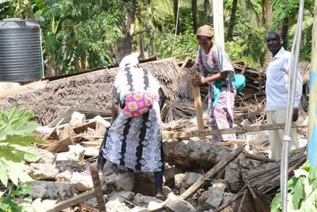 Mwendo wa panya residents looking for remains eviction in 2018. PHOTO   BMS