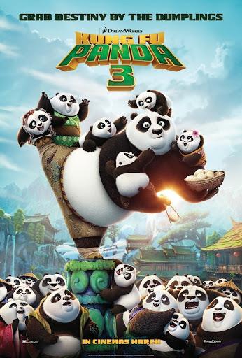 Κουνγκ Φου Πάντα 3 (Kung Fu Panda 3) Poster