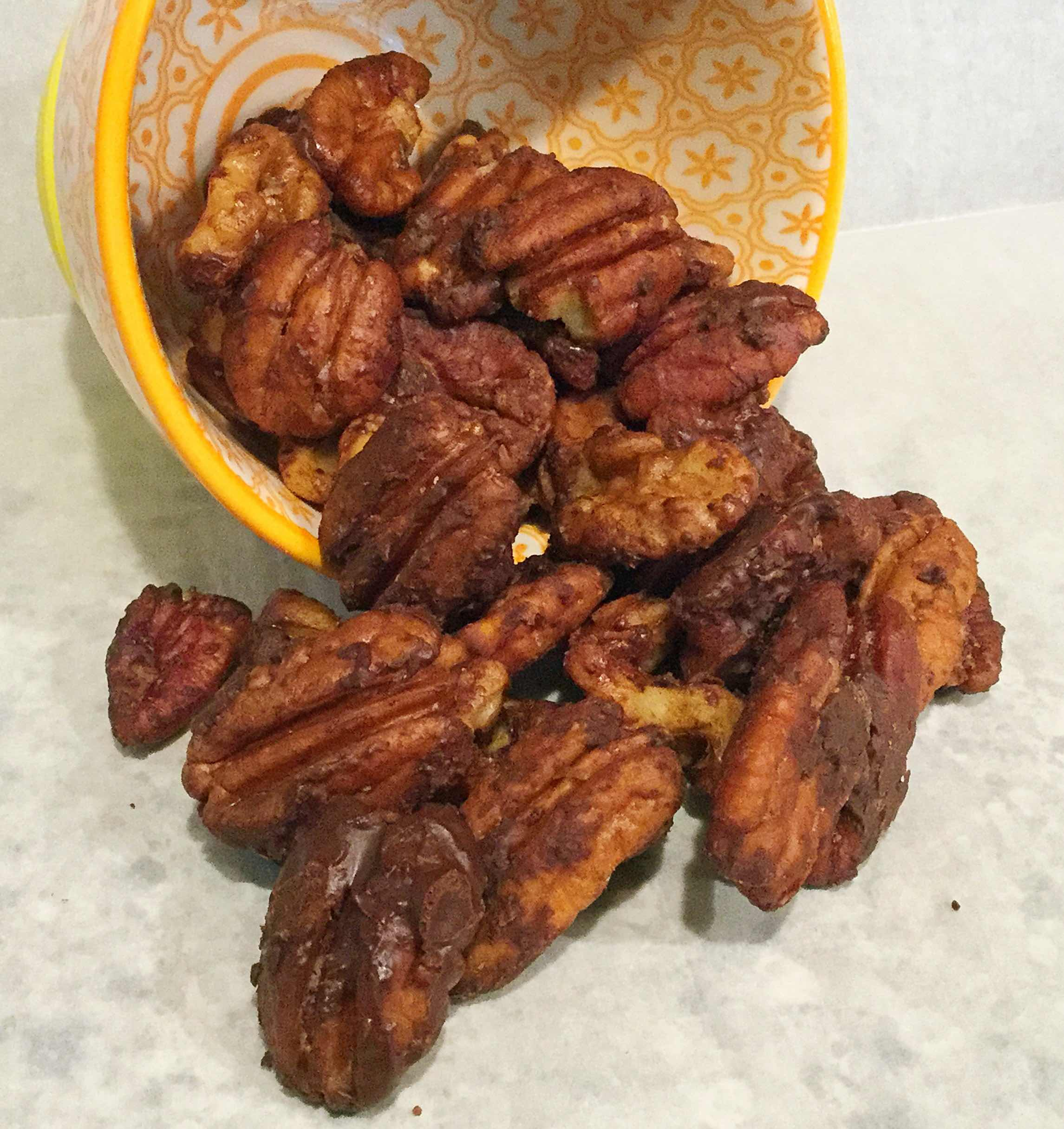 Chocolate Turtle Pecans