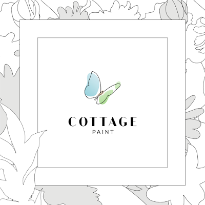 the NEW Cottage Paint logo, 2021