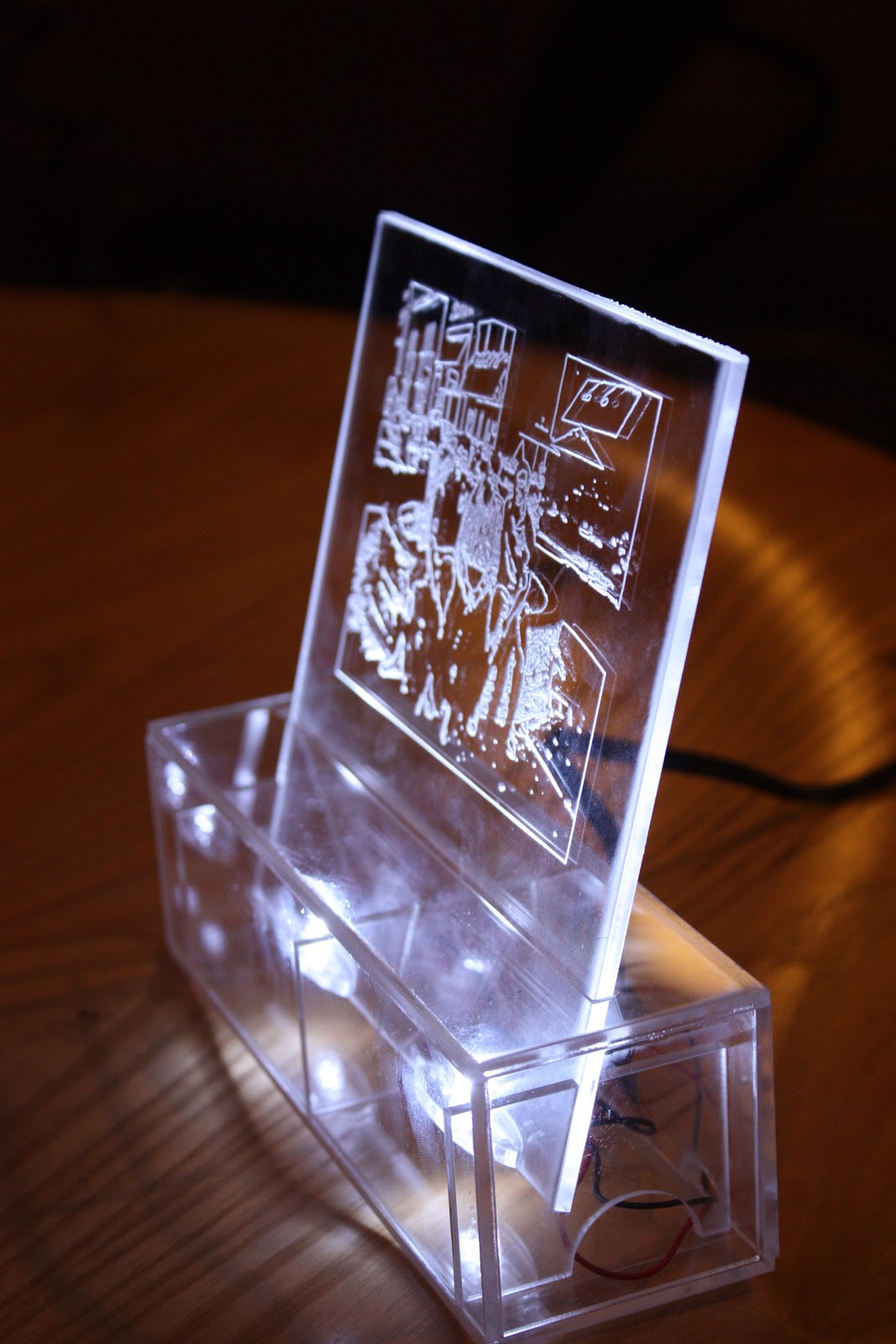 Electronic Delectables Need A Gift Idea Laser Cut Photo