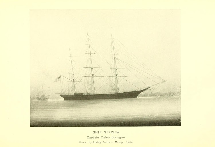 El crack clipper GRAVINA. Foto del libro Barnstable and Yarmouth sea captains and ship owners.jpg